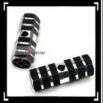 Black Axle Foot Pegs for Bicycle Bike-Q00400BL
