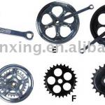 Bicycle chainwheel & crank-