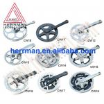 bicycle chainwheel and crank-DIFFERENT