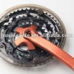 High Quality wholesale 3S steel bicycle chain wheel and crank-PS-CW-036