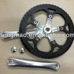 bicycle freewheel crank/curved crank/chainwheels&crank/left crank-HC-QB-27