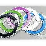 Bicycle chain wheel-chain ring