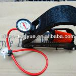 new style high pressure bicycle foot pump 2013-55*120MM