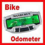 Wired Bicycle Bike Computer LCD Multifunction Bicycle Odometer Speedometer SD-602-B356#