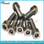 High strength Titanium bicycle parts with sample-DIN912/933/7991/7984/6921,ISO7380