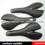 carbon saddles glossy finish full carbon fiber bicycle parts in gangzhen-GSD001