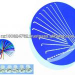 8G9G10G11G12G12G14G15G Bicycle Spokes With Alloy/Copper Cap NB-SK-001-