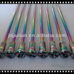 motorcycle colour titanium plated spoke and nipple-