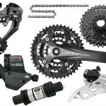 9 speed mtb groupset/mountain bike Acera M390 groupset/original bicycle kits-Acera M390