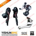 on sale! Microshift Arsis carbon groupset, double 10 speed, SB-R402C Shifter+FD-R82-F Front derailleur+RD-R69SC Rear derailleur-ARSIS