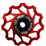 al7075 jockey wheel pulley/shenzhen bicycle parts /YPU09A-11-Model Number:  YPU09A-11