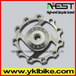 jockey wheel /bearing bike pulley/bike pulley wheel-YPU09A04