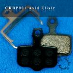 ORGANIC SEMI-METAL PAD FOR AVID ELIXIR DISC BRAKE-CRBP001
