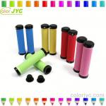 RockBros Cycling Fixed Gear Fixie Grips MTB Mountain Bike Bicycle Handlebar Grips Soft Durable Rubber Cycle Parts,10 Color-JYC 0503417A