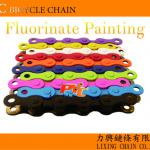 PYC chain-Fluorinate Painting-colored bike chains-Colored chain