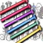 700C fixed gear bike seat post with various color and clamp-