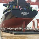 Evergreen Cargo ship launching airbags-yt-7