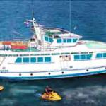 "Design 245/122 Motor ship Design 245 ""Coral"" conversion into a passenger excursion ship-"