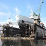 THREE COMPOSITE HULL FLOATING DOCK 8500 TONS-
