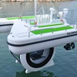 SEMI SUBMARINE ECO LEISURE BOAT BY ELECTRIC MOTOR - PENGUIN 2013-PENGUIN