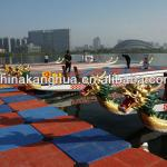 good quality full carbon used Dragon boat for 12 person-HZKW-D001