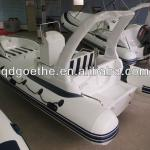 RIB 5.8m long Rigid inflatable boat with inboard oil tank-RIB580C
