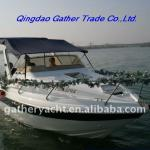 Hot sale 20.5ft fiberglass Cabin Boat-20.5ft cabin boat