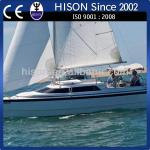 Hison manufacturing brand new certified patent house boat-sailboat