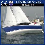 Hison manufacturing brand new multi-uese easy drive house boat-sailboat