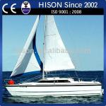 Hison manufacturing brand new racing challenging house boat-sailboat