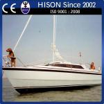 Hison factory direct sale racing challenging sail boat-sailboat