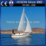 Hison factory promotion tow tow hock cabin boat-sailboat