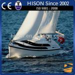 Hison 26ft Sailboat antique model outboard motor Sailing Yacht for sale luxury decoration-HS-006J8