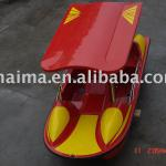red and yellow pedal boat-Two person pedal boat