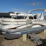 24 feet aluminum pontoon boat-