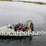 Piranha 3D Hovercraft (Airboat)-