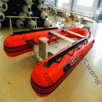 CE 360cm Cando Hypalon/PVC Inflatable fiberglass hull mini inflatable boat-SRIB360