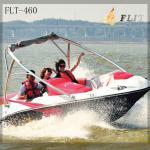 China 200hp fiberglass jet speed boat-