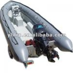 grp lightweight inflatable pontoon fishing boat-QS310
