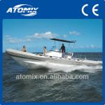 8m CE appeoved Inflatable RIB Boat with inboard engine (7500 RIB)-7500 RIB