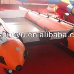 CE 4.3m 6 passengers inflatable catamaran for sale-S-430