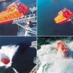 TOTALLY ENCLOSED GRP FREEFALL LIFEBOAT-