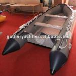 4.2m PVC inflatable boat, 13.6ft boat ,PVC Craft ,with Aluminum Flloor-W420