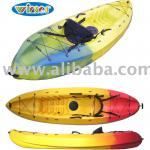 plastic Kayak, sea kayak, single sit on top kayak, 1 person kayak-Velocity