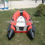 The pvc infltable fishing kayak for 5 persons-HLL330