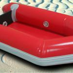 small red inflatable canoe for kid-JC--DMZ336
