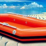 orange inflatable canoe for hot sale-JC--DMZ339