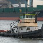 River towing, tug boat-
