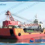 48m self propelled barge with crane and spudcan-
