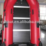 rafting plywood floor CE boat with pvc tube-CYZ-270